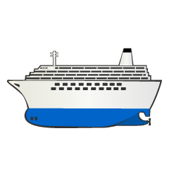 Large Cruise Ship Clipart