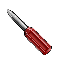 Phillips Screw Driver Clipart