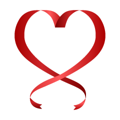 Heart Shaped Ribbon Clipart