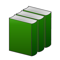 Three Books Clipart