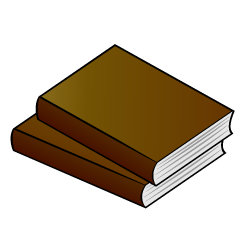 Two Books Clipart