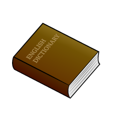 English Dictionary Clipart