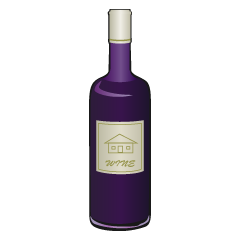 Red Wine Bottle Clipart