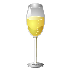 Champagne Glass Clipart