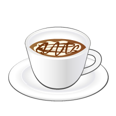 Coffee Latte Cup Clipart