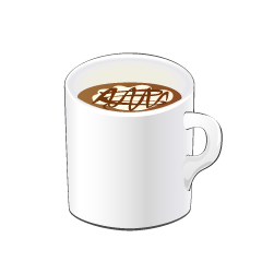 Coffee Latte Mug Clipart