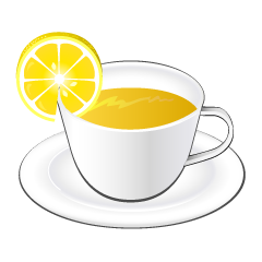 Lemon Tea Clipart