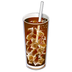 Cola Glass Clipart