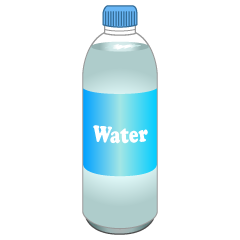 Water Bottle Clipart
