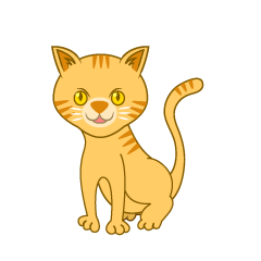 Tiger Cat Clipart