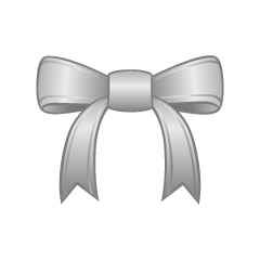 Silver Bow Clipart