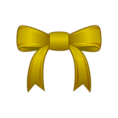 Gold Bow Clipart