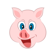 Pig Face Cartoon