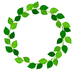 Green Leaf Wreath