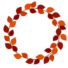 Fallen Leaf Wreath