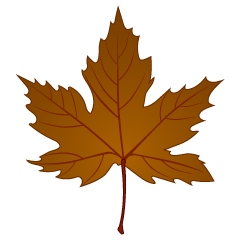 Fallen Maple Leaf Clipart