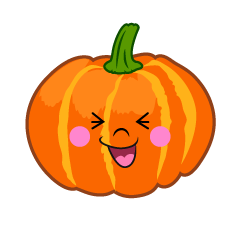 Laughing Pumpkin Cartoon