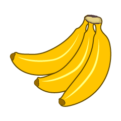 Bunch of Bananas Clipart