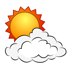 Sun Cloud Clipart