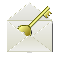 Key Email Clipart