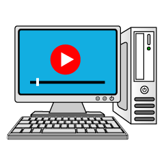 Movie Computer Clipart