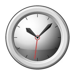 Simple Clock Clipart