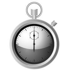 Analog Stopwatch Clipart
