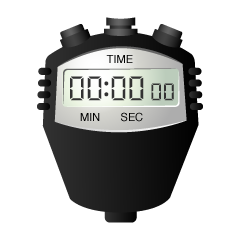 Digital Stopwatch Clipart