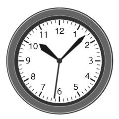 Wall Clock Clipart