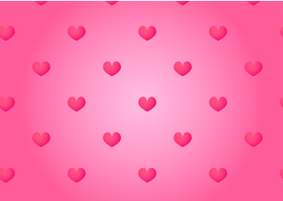 Pink Heart Pink Wallpaper