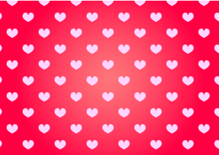 Pink Heart Red Wallpaper