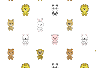 Animal Pattern Wallpaper