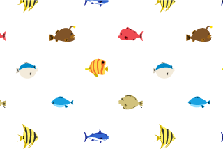 Fish Pattern Wallpaper