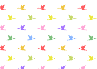 Colorful Water Birds Wallpaper