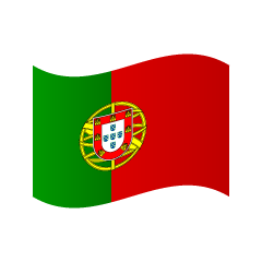Waving Portugal Flag