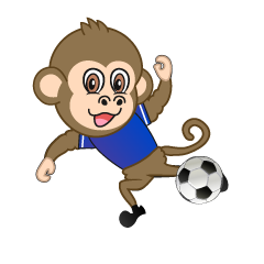 Shooting Monkey Cartoon