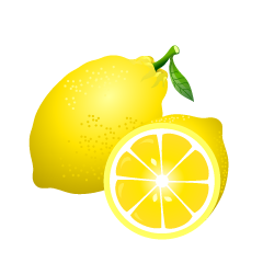 Cut Lemon Clipart