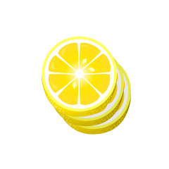 Slice Lemon Clipart