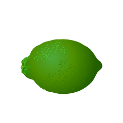 Green Lemon Clipart