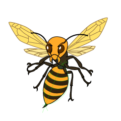 Aggressive Wasp Clipart