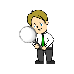 Search Businessman Clipart