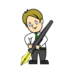 Drawing Businessman Clipart