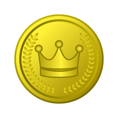 Gold Crown Coin Clipart