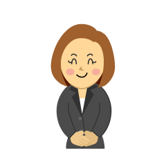Smiling Businesswoman Clipart
