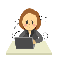 Busy Businesswoman Clipart