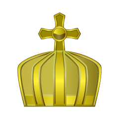 Pure Gold Crown Clipart