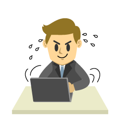 Busy Businessman Clipart