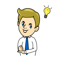 Inspiring Businessman Clipart