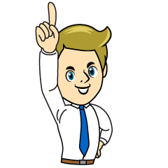 No.1 Businessman Clipart