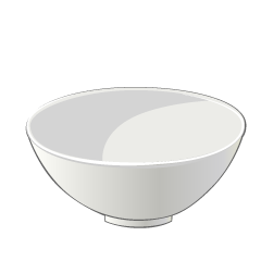 Rice Bowl Clipart